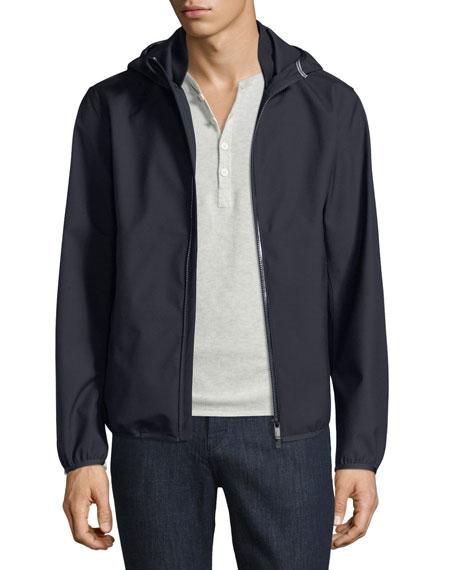 Z Zegna-Techmerino Techmerino Hooded Jacket