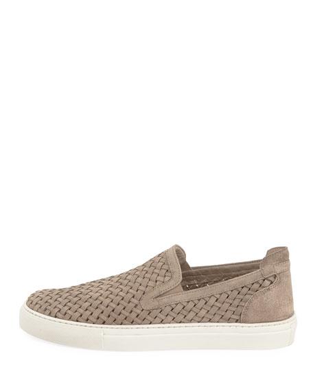 Men's Clark Woven Velvet Slip-On Sneakers