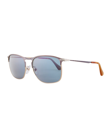Persol PO7359S Polarized Rectangular Sunglasses