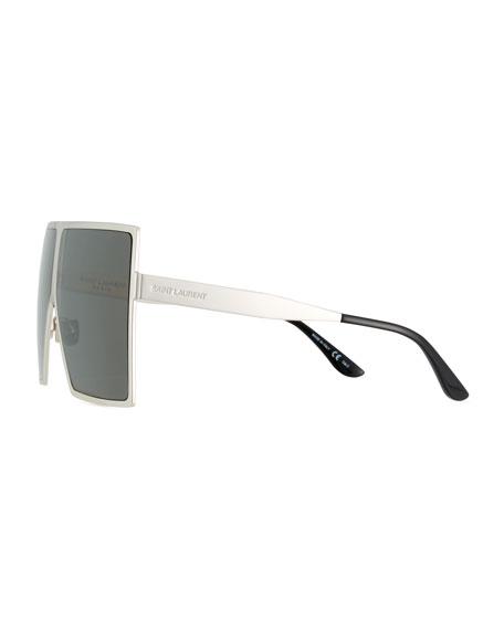 New Wave 182 Betty Metal Shield Sunglasses