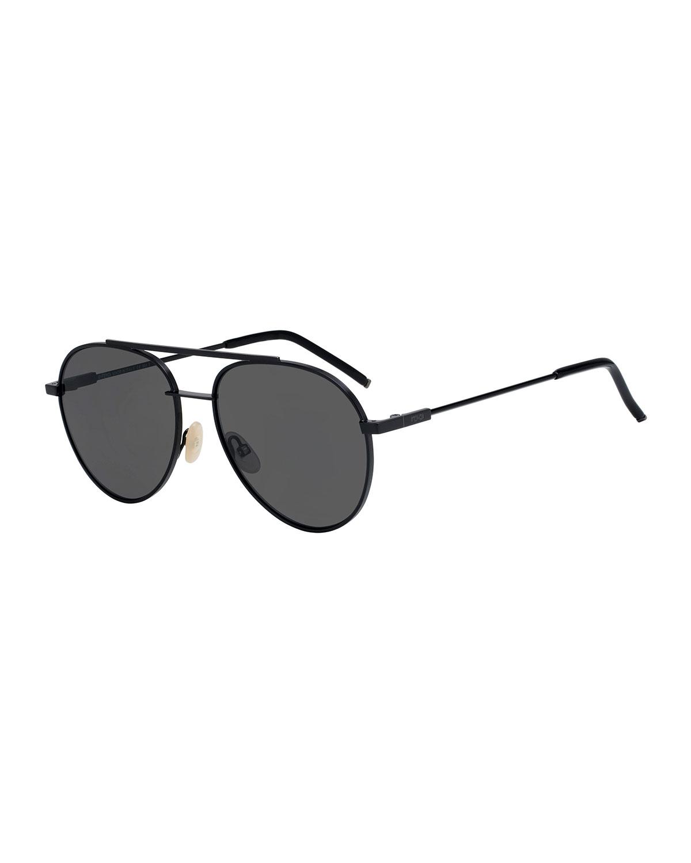 365f68bb9a0d Fendi Air Men s Metal Aviator Sunglasses