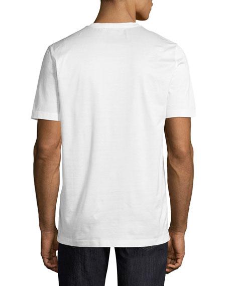 Men's Thermal Logo Cotton T-Shirt, White