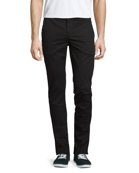 J Brand Men's Brooks Slim-Fit Twill Trousers