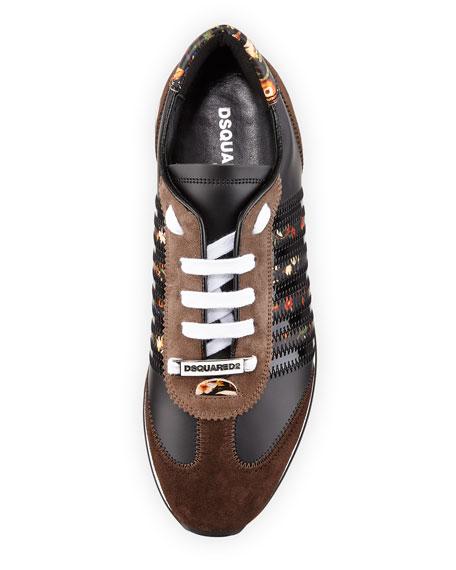 Men's New Runner Suede Hiking Sneakers