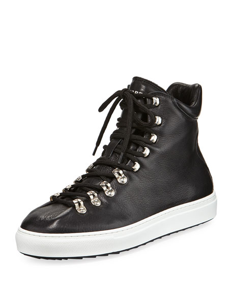 Dsquared2 Whistler High-Top Leather Sneaker