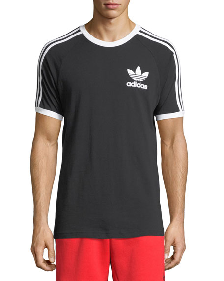 Originals CLFN Slim-Fit Baseball T-Shirt, Black/White