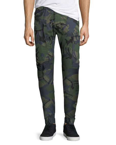 G-Star Powel 3D Tapered Camouflage Jeans