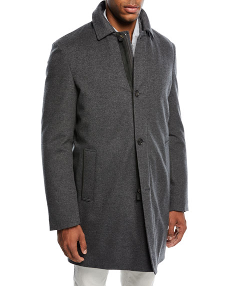 Calvert Stretch-Cashmere Storm Coat