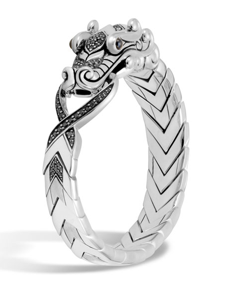 John Hardy Men's Legends Naga Dragon Sterling Silver