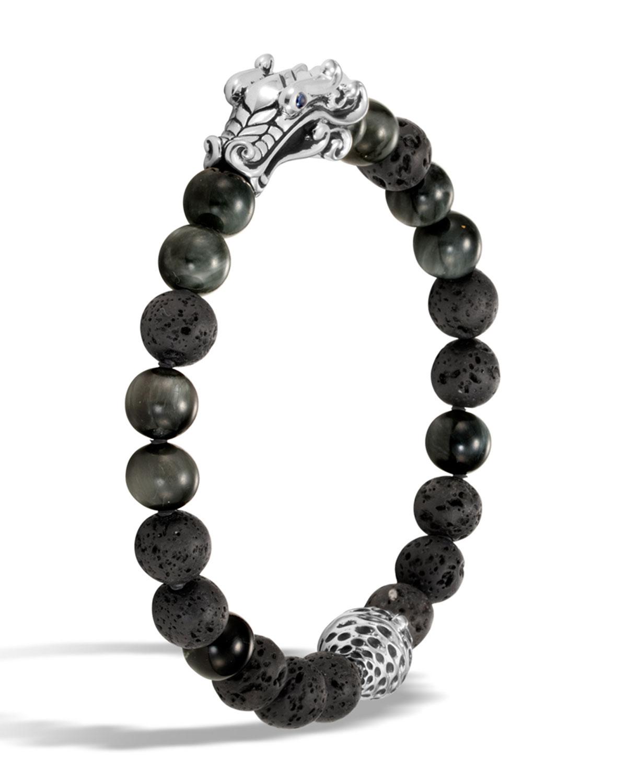 John Hardymen S Legends Naga Dragon Bead Bracelet