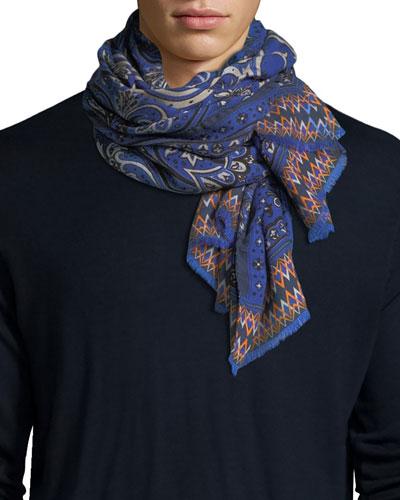 Delhy Cashmere/Silk Scarf