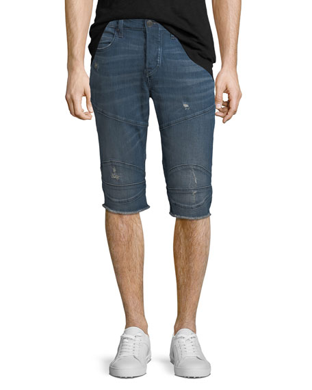 True Religion Rocco Endless Road Biker Shorts