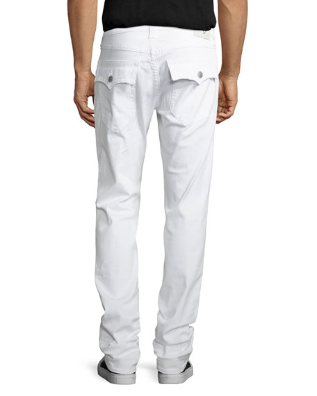 Rocco Worn Cruiser Distressed Skinny Jeans