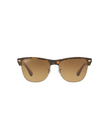Clubmaster Oversized Polarized Sunglasses
