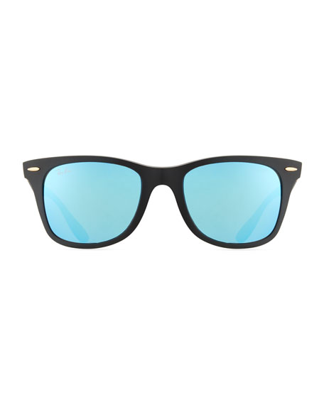 Wayfarer Literforce Mirrored Sunglasses