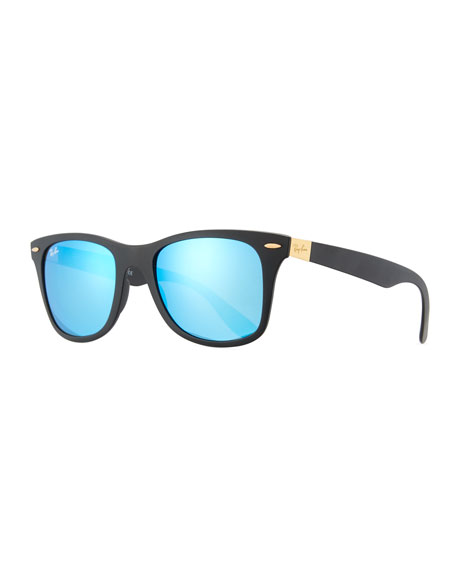Ray-Ban Wayfarer Literforce Mirrored Sunglasses