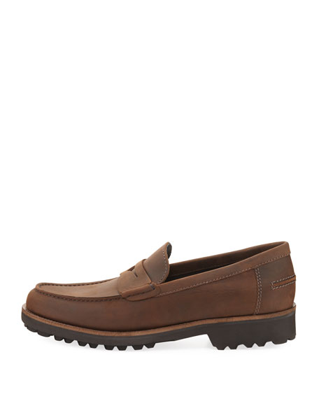 18bb1b8c5f3 Image 3 of 3  Waterproof Leather Penny Loafer
