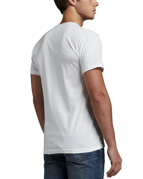 3-Pack Mercerized Cotton Crewneck T-Shirts