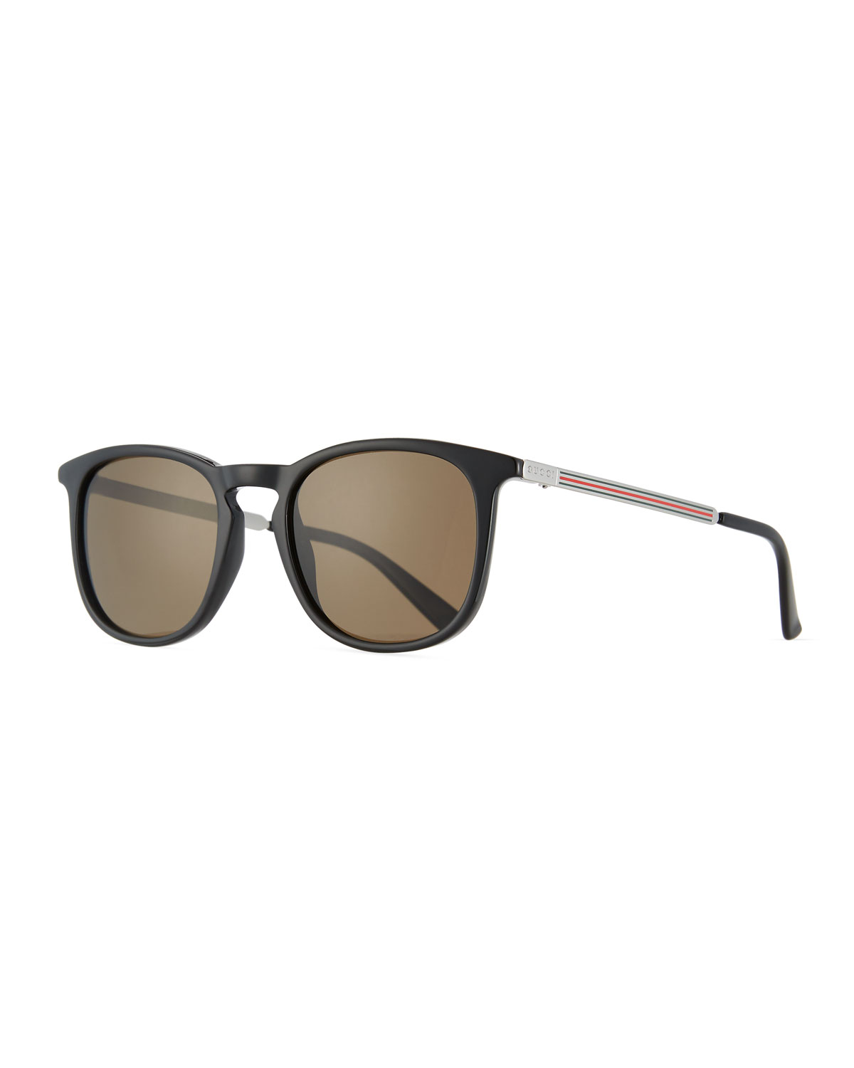 4adcd7723d5 Gucci Men s Square Optyl Web Sunglasses