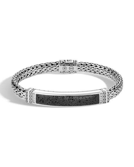 John Hardy Men's Classic Chain Bracelet with Volcanic