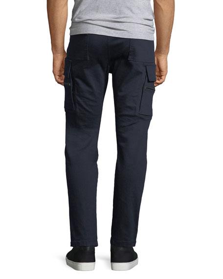 Skinny Twill Cargo Pants