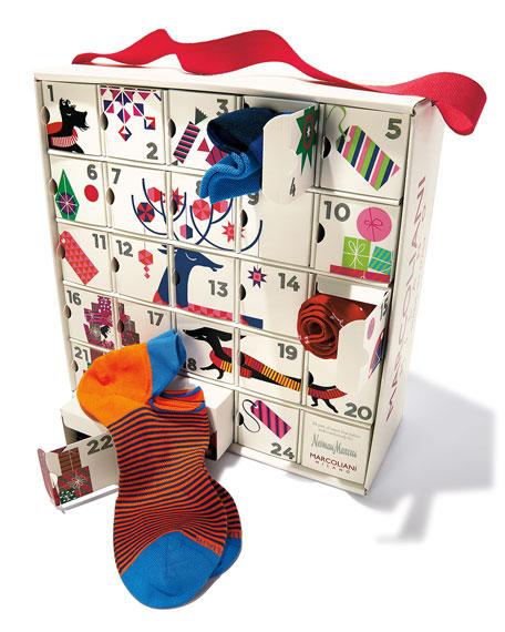 Advent Calendar of Socks