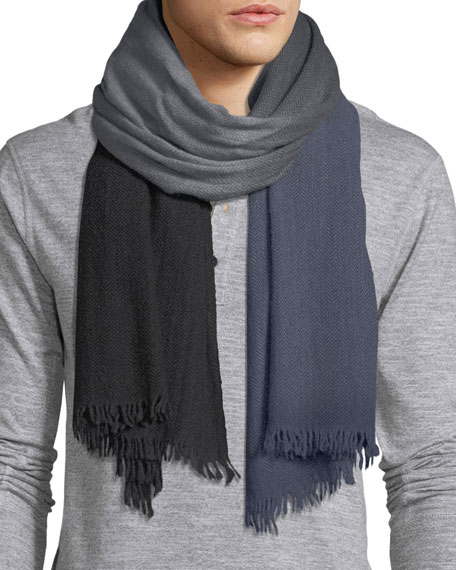 Ombre Wool Scarf