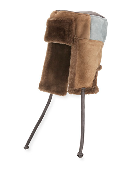 Men's Sheepskin Chapka Hat