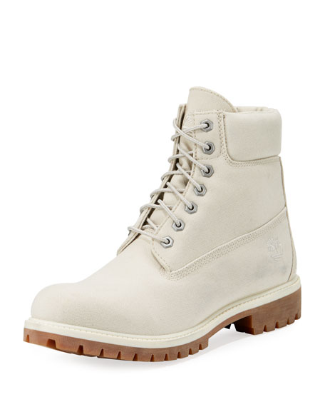 "6"" Icon Tread Canvas Combat Boot"