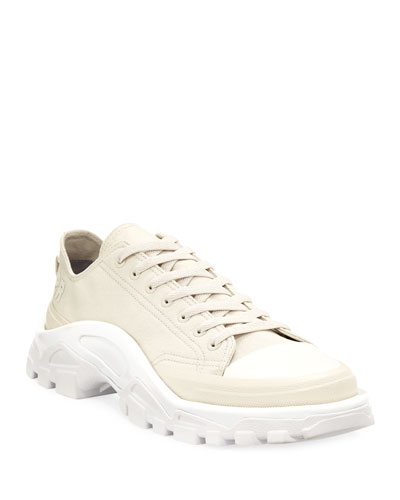 Detroit Runner Canvas Sneaker, White