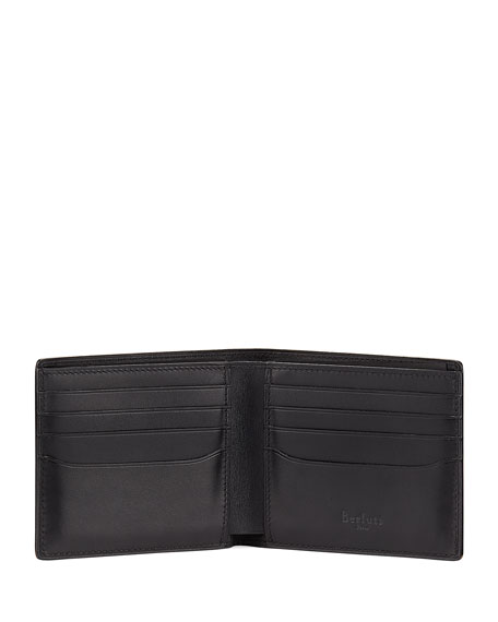 Scritto Leather Bi-Fold Wallet