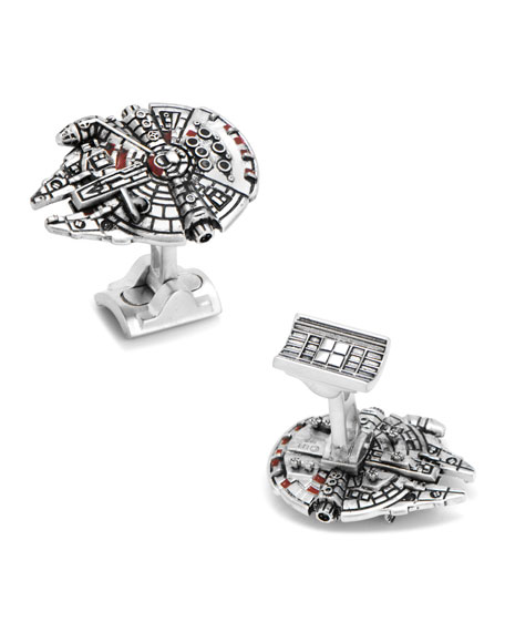 Cufflinks Inc. Star Wars Millennium Falcon Cuff Links