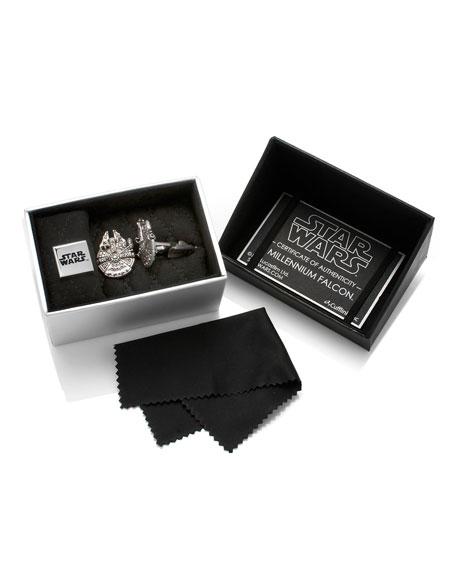 Star Wars Millennium Falcon Cuff Links