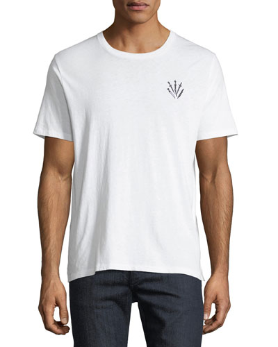 Dagger Embroidered T-Shirt