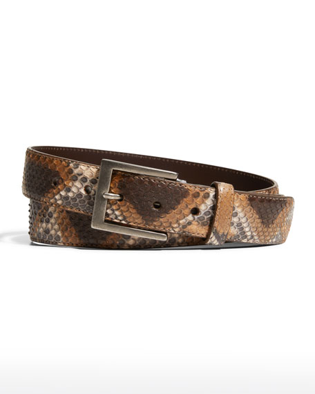 Python Matte Belt
