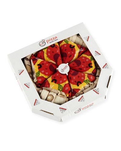 Pizza Box Sock Set