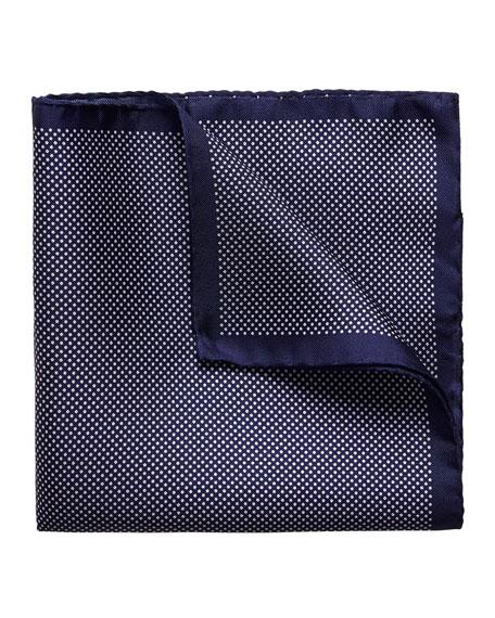 Dot Silk Pocket Square