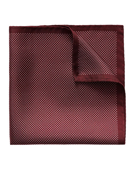 Dot Silk Pocket Square