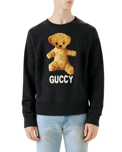 Guccy Teddy Bear Sweatshirt