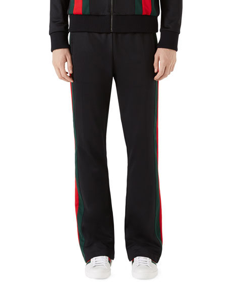 Gucci Track Pants with Web Taping