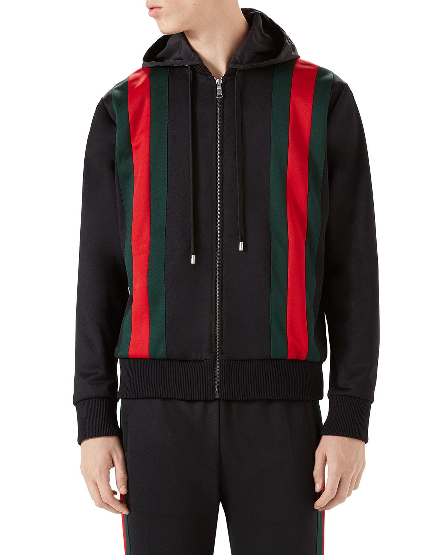 cf524291e74 Gucci Web-Striped Track Jacket