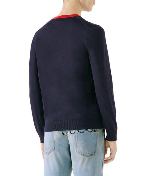 Bee Intarsia Sweater