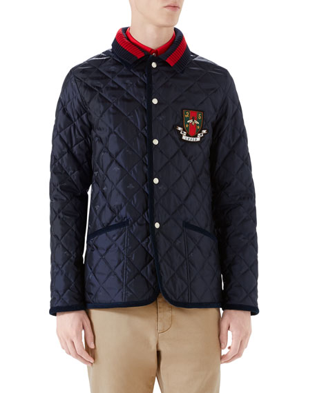 Gucci Caban Quilted Jacket