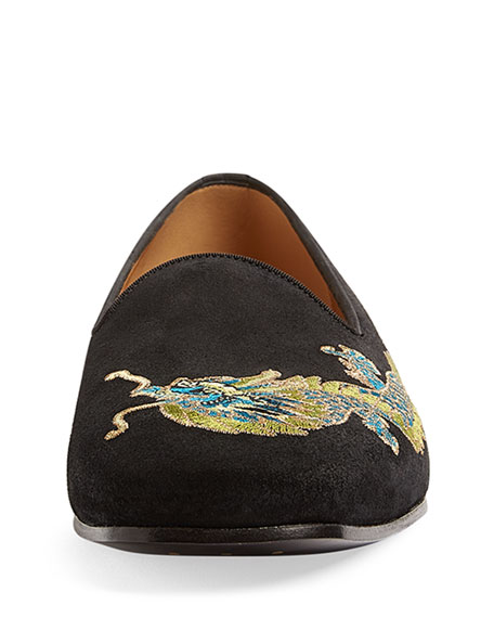 New Gallipoli Dragon-Embroidered Loafer