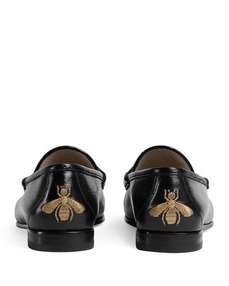 Roos Herringbone Leather Loafer
