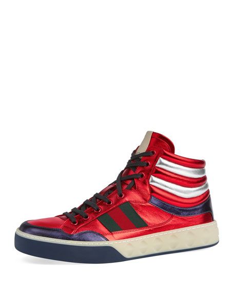Tddgnkgsf5 More High Top Leather Sneakers G7i35JQ
