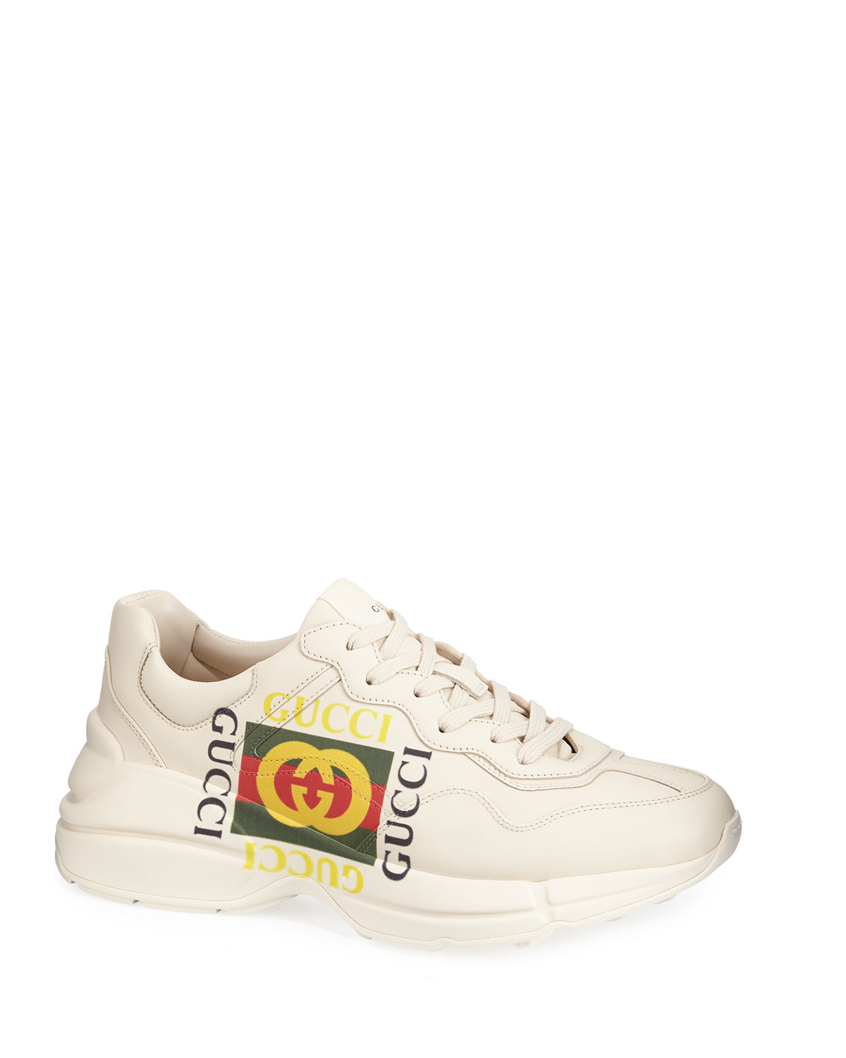 144c7e140ad Quick Look. Gucci · Gucci Logo Leather Sneaker