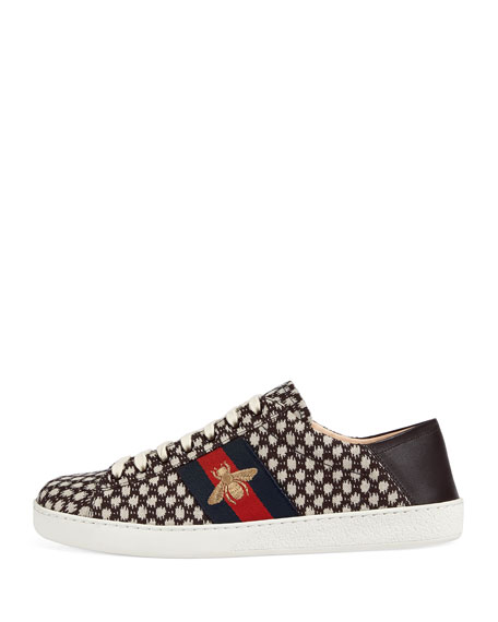 New Ace Jacquard Sneaker with Bee