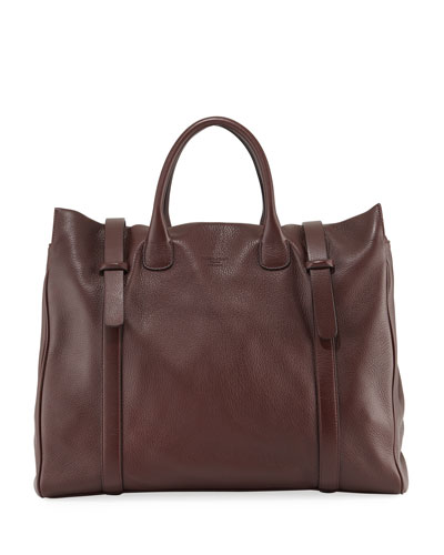 Men's Deerskin Runway Tote Bag