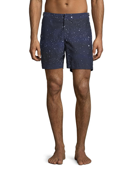 Orlebar Brown Bulldog Constellation Printed Swim Trunks